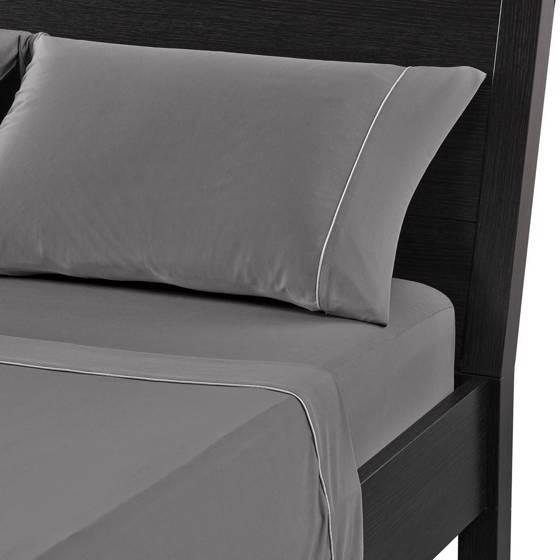 Picture of Dri-Tec BedGear Grey Sheet Set