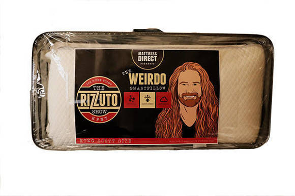 The Weirdo Smart Pillow is now available in King Scott Size